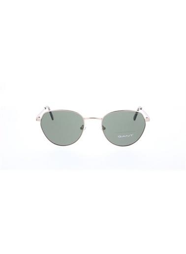 Gant  Gnt 7109 32N Unısex Güneş Gözlüğü Altın